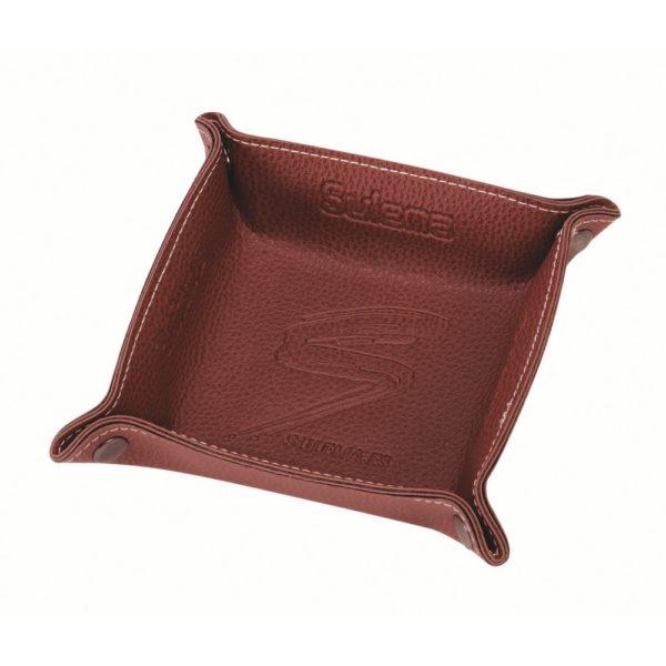 Vacíabolsillos fabricado en polipiel, personalizable. Fabricación nacional. Regalo personalizable para agencias de viajes.