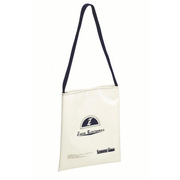 Bolsa bandolera especial para merchandising.