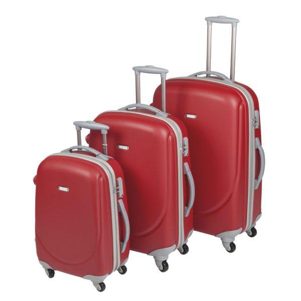 Set de maletas ABS de viaje personalizables con su logotipo.